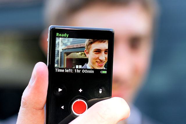 The Flip video camera gave you permission to shoot anything